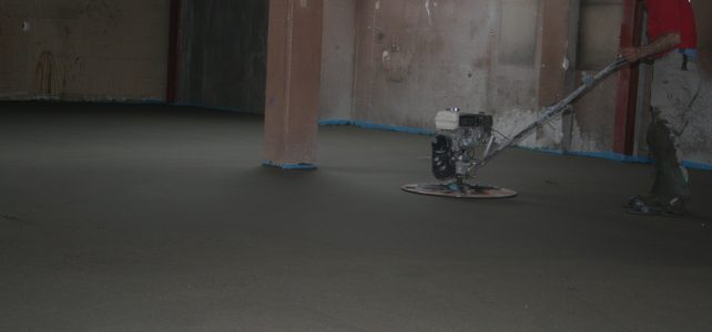 Zandcementvloer